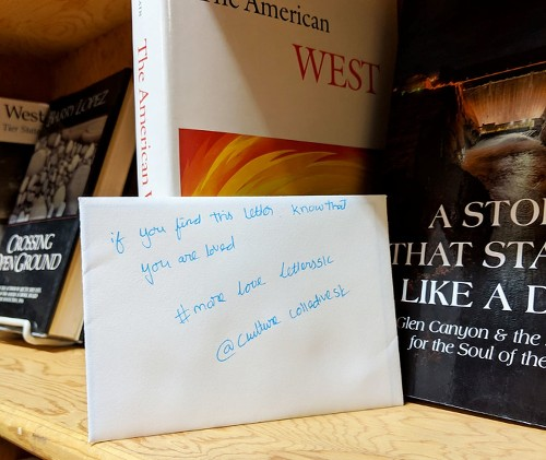 Here are the people behind those random kind notes left in cafes and bookstores