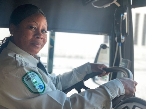 This Miami bus driver performed CPR on a passenger. It was the third time she helped save someone.