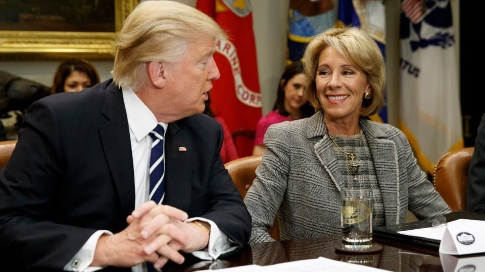 DeVos rescinds 72 guidance documents outlining rights for disabled students