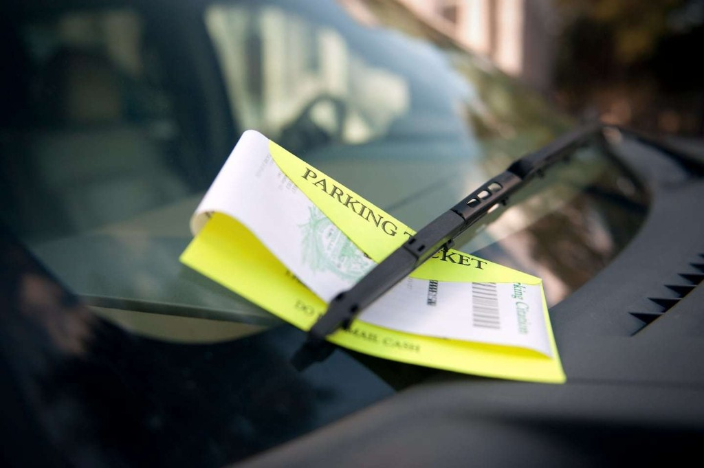 What to do about parking violations on vacation