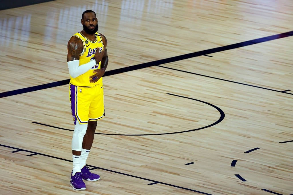LeBron James says NBA community doesn't care whether Trump is watching