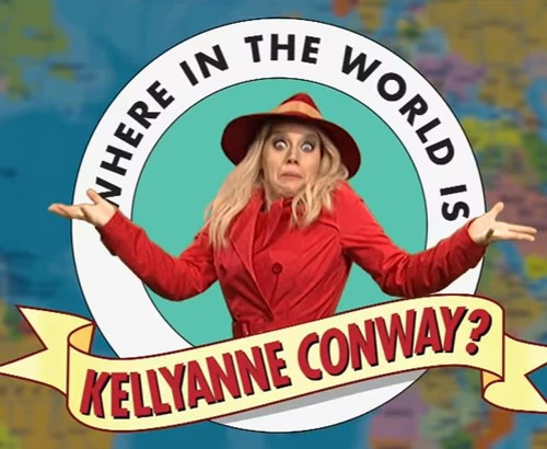 SNL ridicules Kellyanne Conway in a remarkably short sketch