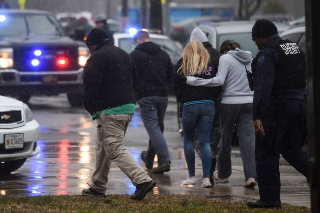Student gunman dies after Maryland school shooting; two other students injured