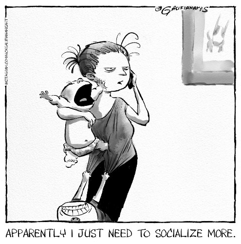 Carolyn Hax: A stay-at-home mom feels abandoned by friends and family