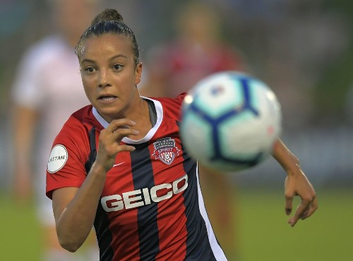 U. S. women's stars return to NWSL and Spirit falls to Houston