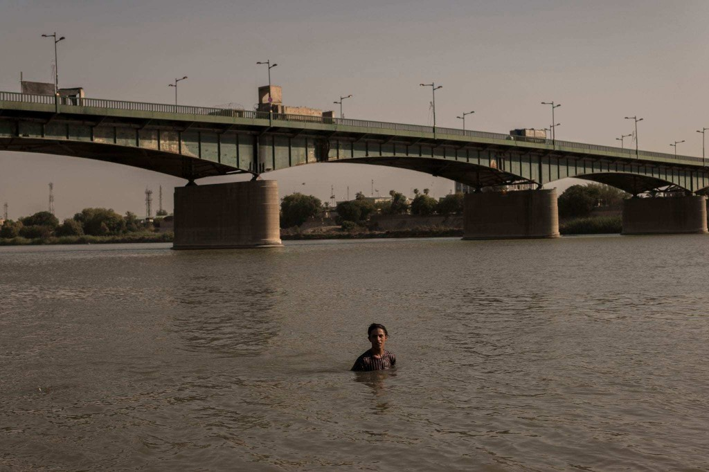 Baghdad's record heat offers glimpse of world's climate change future
