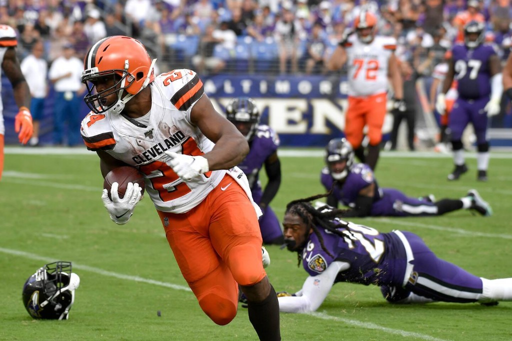 The Browns kept the Ravens from running away with the AFC North