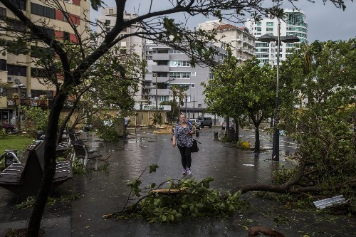 Puerto Rico entirely without power as Hurricane Maria hammers island with devastating force