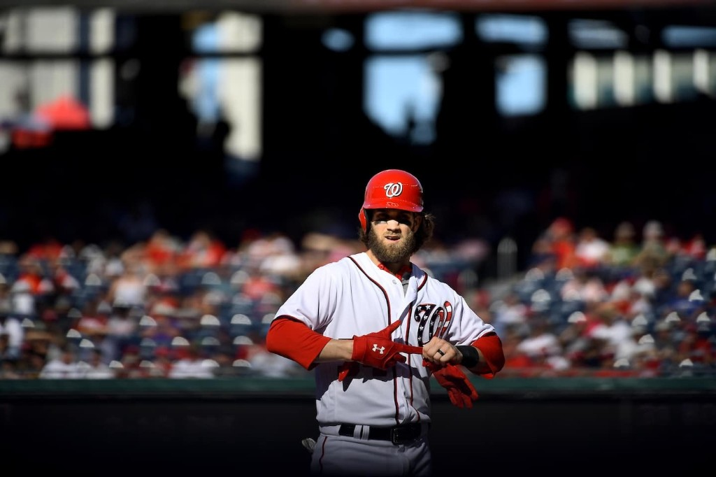 Bryce Harper with the Phillies? Get used to it, Nats fans, because you will be seeing a lot of him.