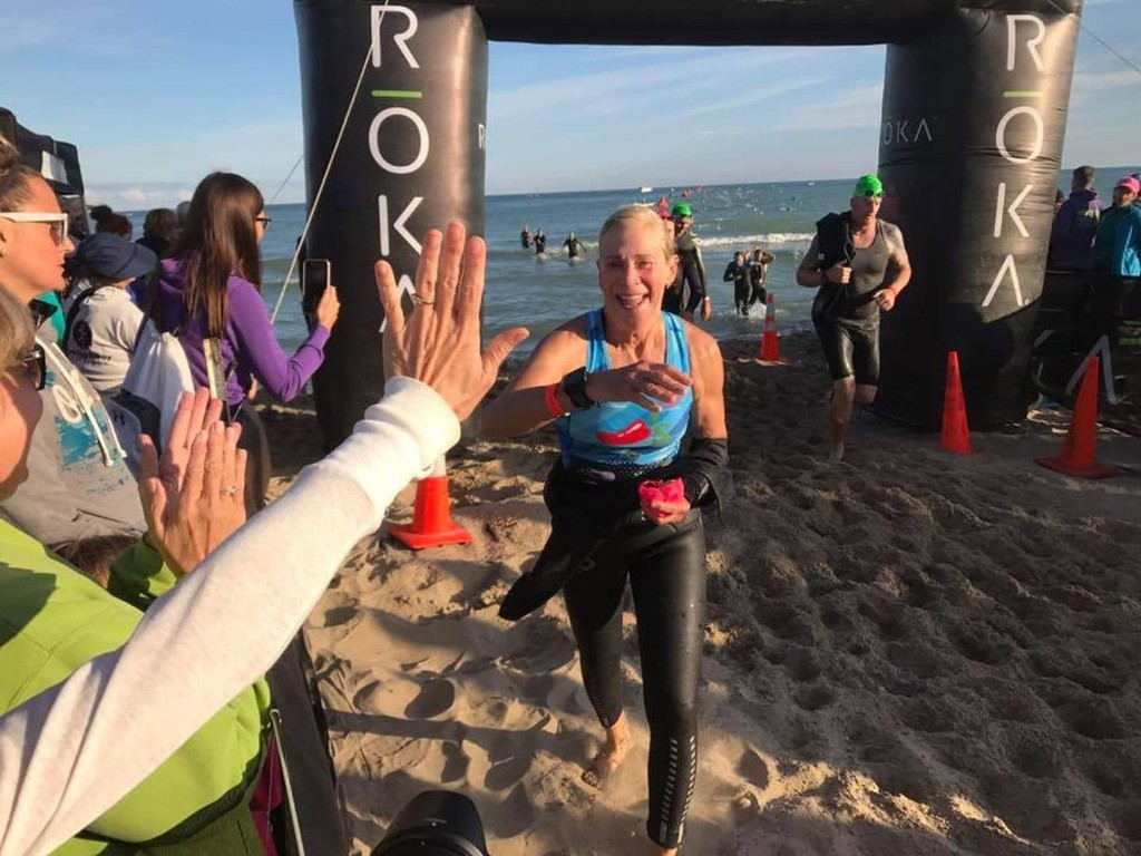 This grandmother learned to swim in her 50s. Now, at 73, she's a returning Ironman champion.