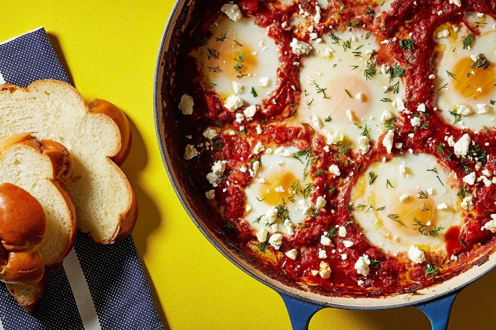 This spicy shakshuka is all about the sauce