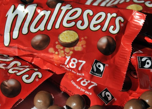 Mars and Hershey are going to war over malted-milk balls