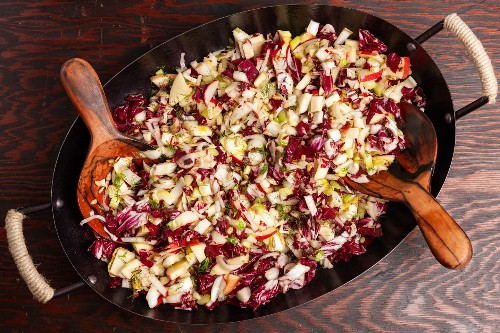 When it's comfort-food weather, my go-to is salad