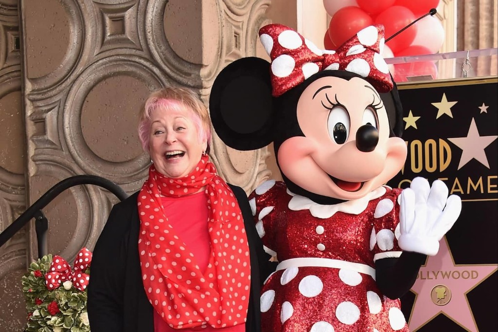 She was the voice of Minnie Mouse. He was the voice of Mickey Mouse. That's how their romance began.
