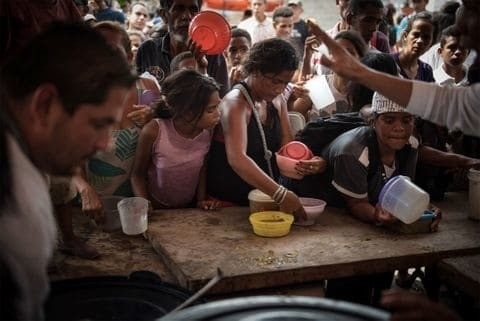 Venezuela's Humanitarian Crisis - Magazine cover