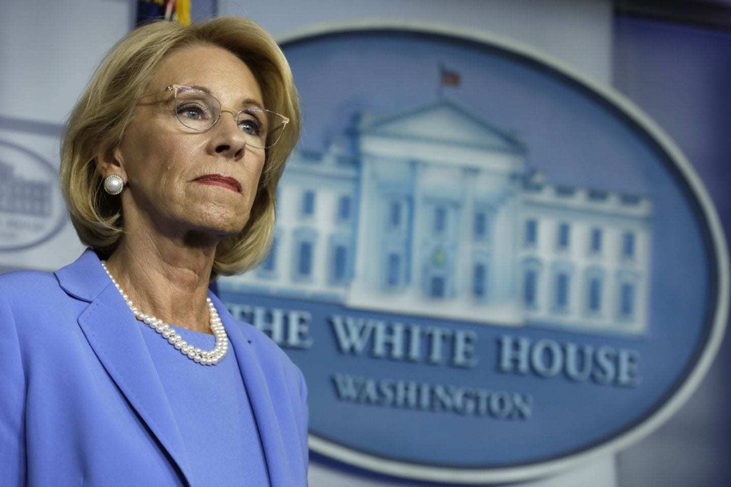 Nation's governors urge Education Secretary Betsy DeVos to immediately disburse new federal relief funding for schools