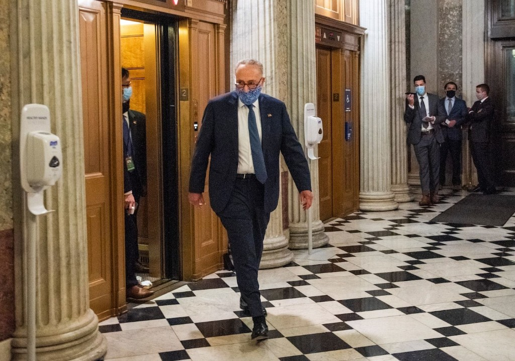 Sen. Schumer could be the second-biggest winner in the election — or relegated to perennial political bridesmaid