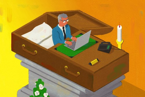 'Dying at your desk is not a retirement plan'