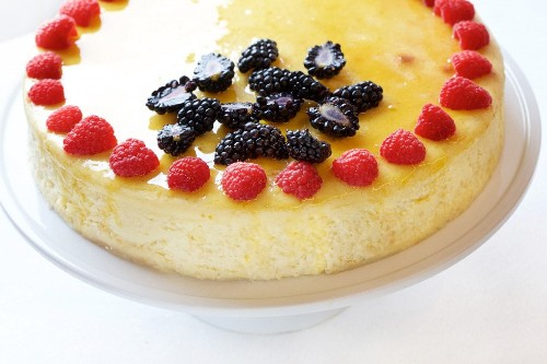 The light and springy cheesecake you've been waiting for