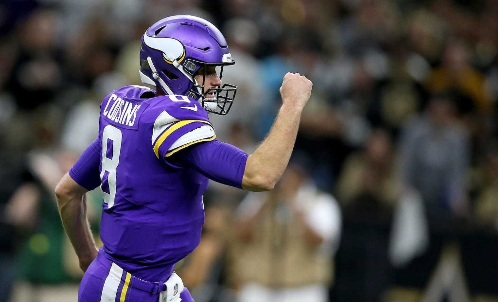 Underdog Vikings defeat Saints in overtime, dealing New Orleans another playoff heartbreak