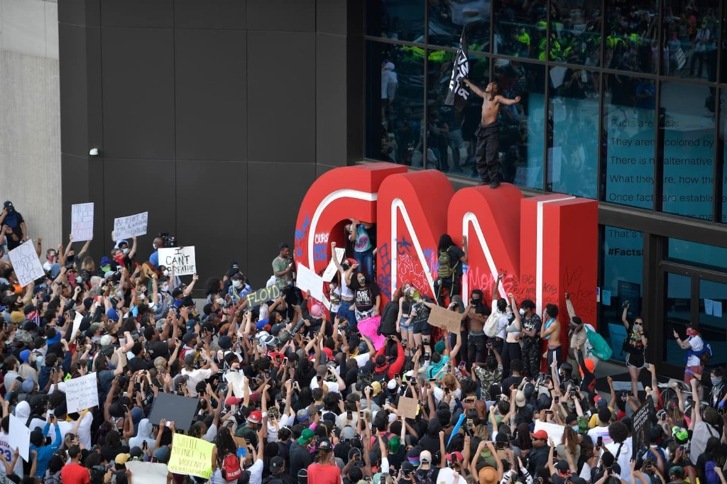 Trump has sown hatred of the press for years. Now journalists are under assault from police and protesters alike.
