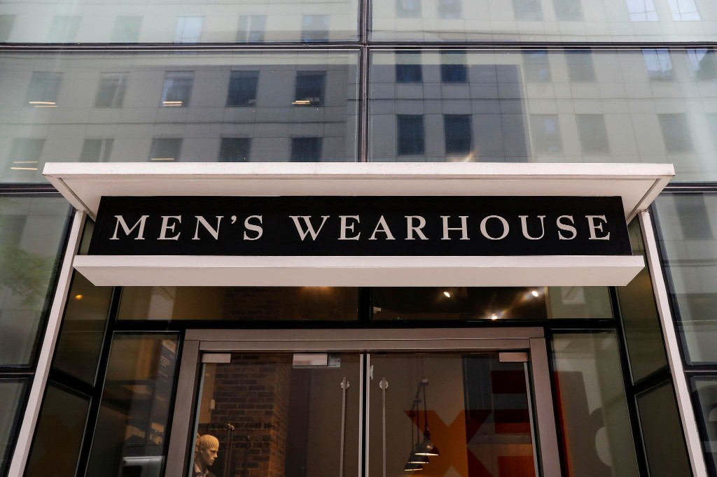Parent company of Men's Wearhouse files for bankruptcy