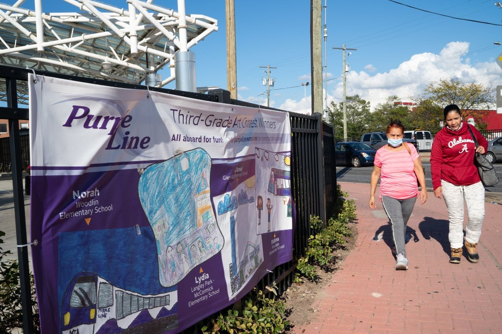 Maryland lawmakers write to Gov. Hogan with 'deep' concerns about fate of Purple Line