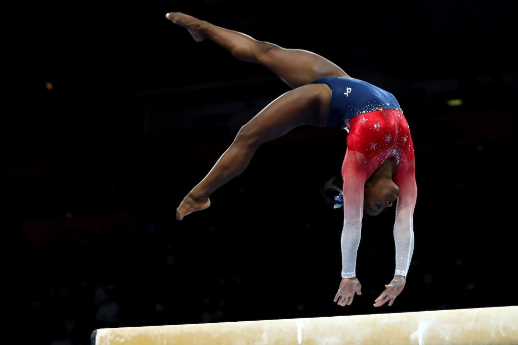Simone Biles leads U.S. women gymnasts to another world team gold