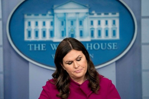 Morning Bits: When not even Sarah Huckabee Sanders will dissemble for you