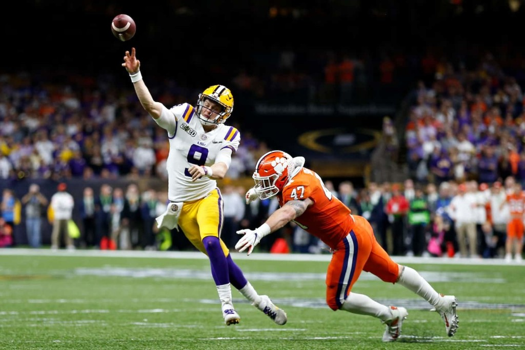 Joe Burrow showed an engineer's precision and a wizard's magic as he went out a legend