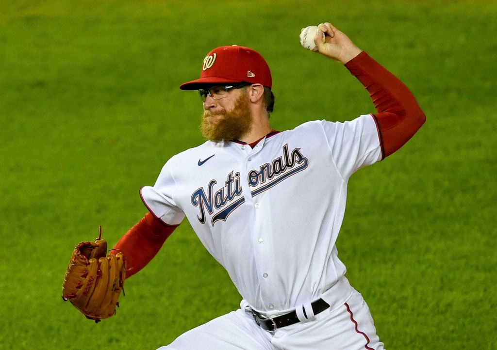 Sean Doolittle is done for the season. But he wants a different ending in Washington.