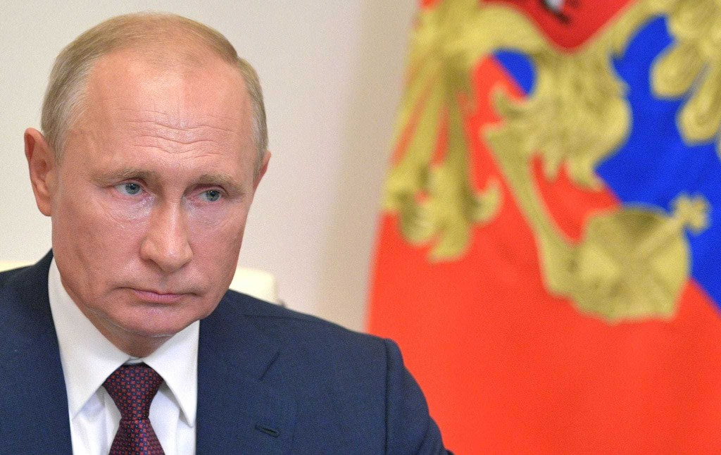 Putin finally sheds all democratic appearances