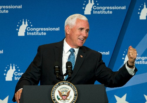 Pence claims a prized racehorse bit him. The farm manager who was there isn't buying it.