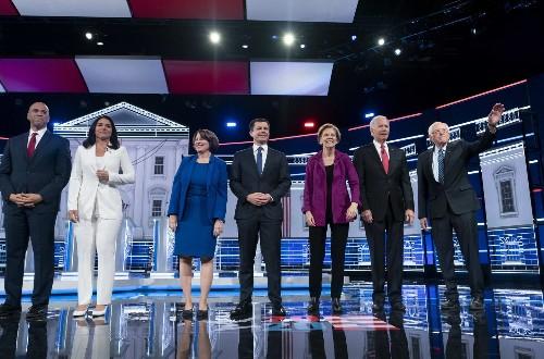 The Fifth Democratic Primary Debate