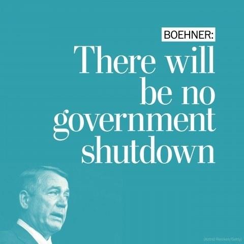 Gov Shut Down - Magazine cover