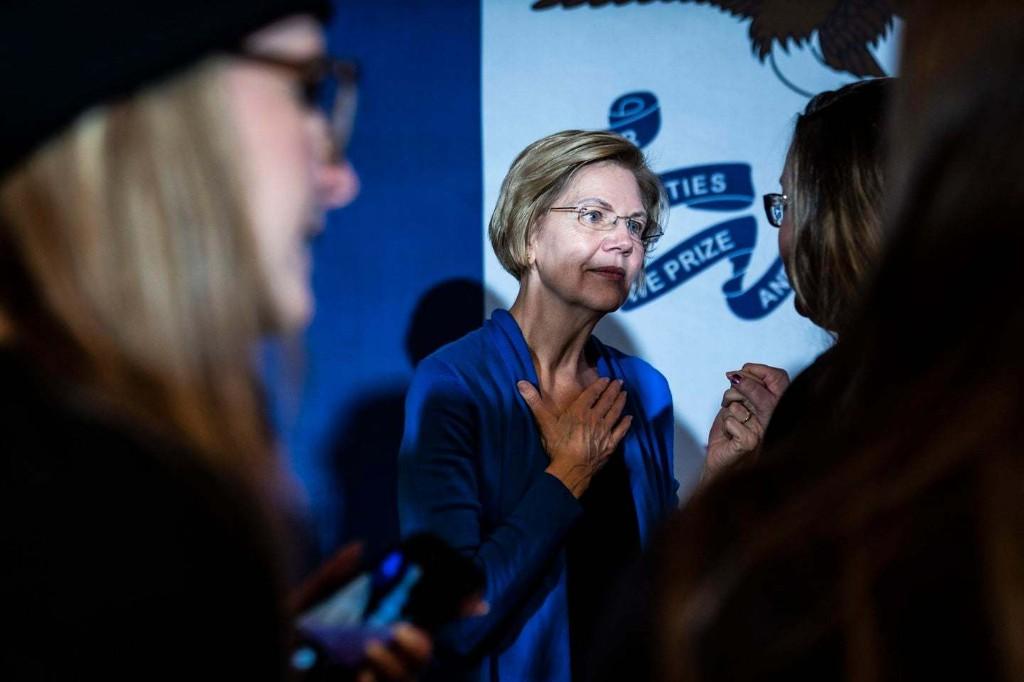 Elizabeth Warren 2020 - cover