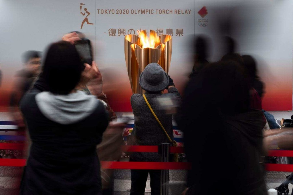 Olympic flame no longer on display in Japan because of coronavirus concerns
