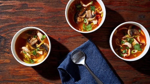 Spicy Lemongrass Soup (Tom Yum Gai) - The Washington Post