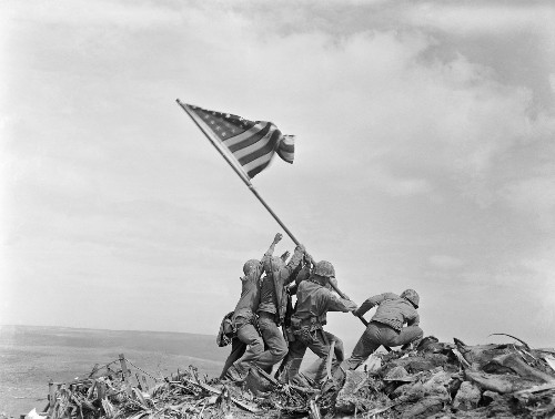 A Marine captured the famous Iwo Jima flag-raising on film. The original hasn't been seen in 75 years.