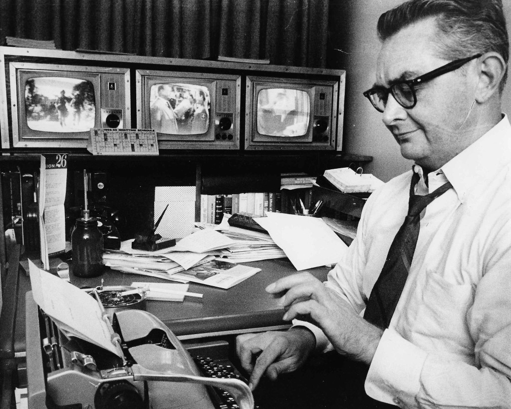 Lawrence Laurent, Washington Post's first TV critic, dies at 95