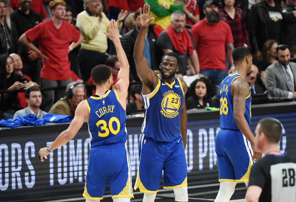 Warriors dust off Steph Curry-Draymond Green pick-and-roll in Kevin Durant's absence