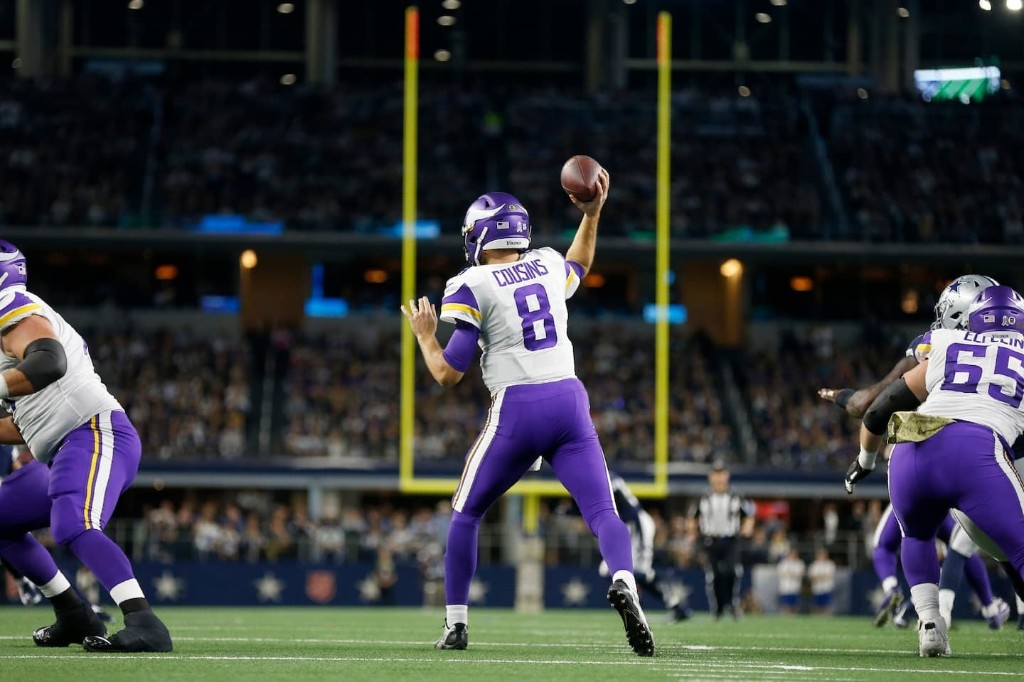 You like that?! Kirk Cousins and the Vikings get a big prime-time win at Dallas