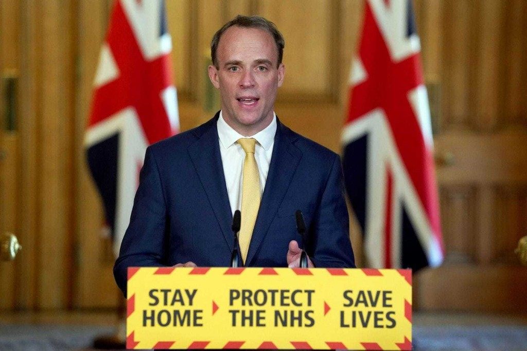 The prime minister's in intensive care — and Britons are wondering who's in charge