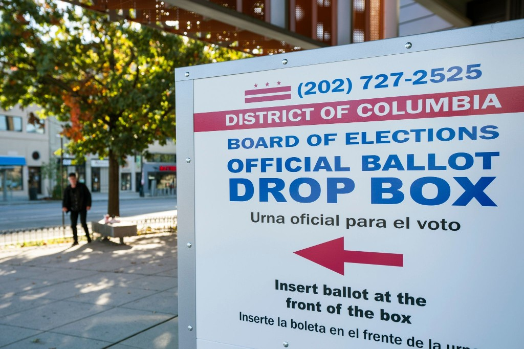 As elections officials process voters' mail-in ballots, some envelopes contain surprises