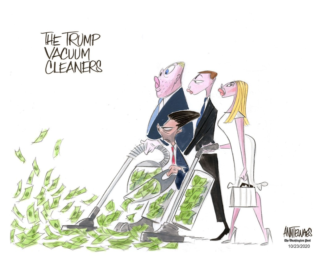 The Trump family vacuum cleaners
