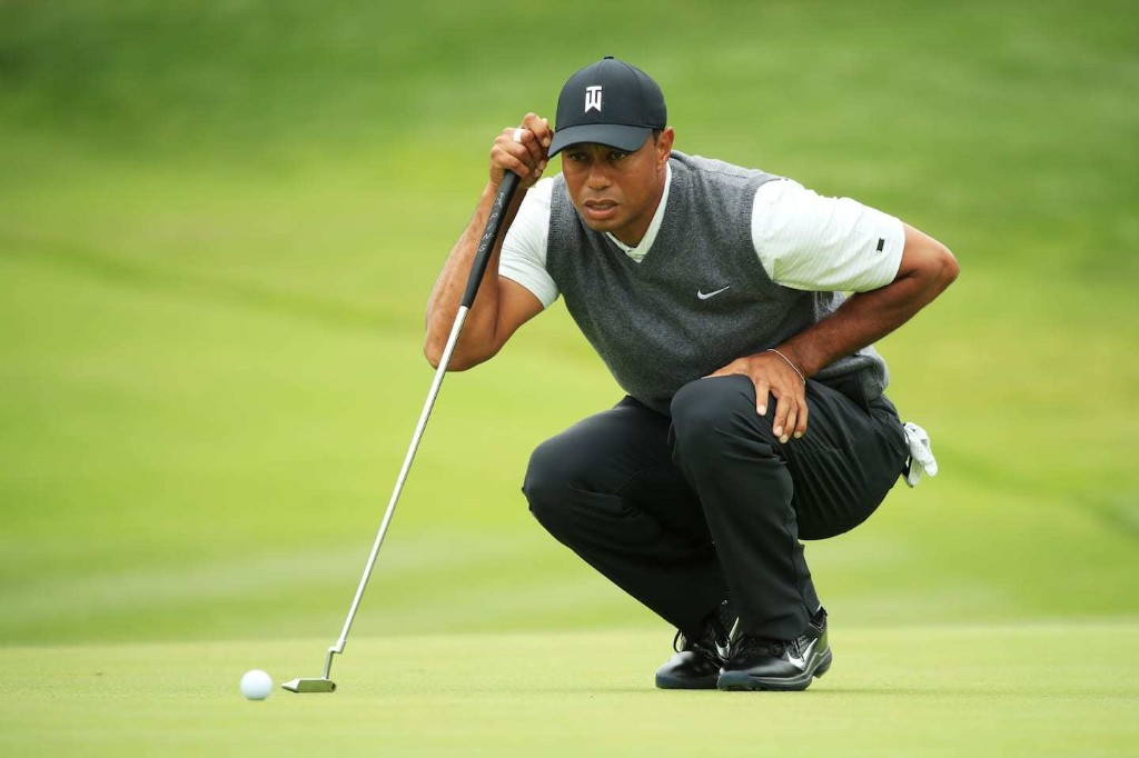 Tiger Woods finishes up and down first round at U.S. Open in red numbers