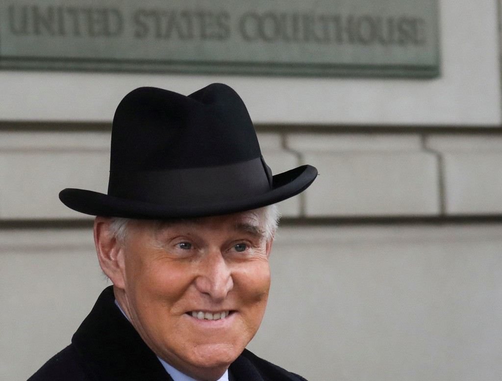Trump commutes sentence of confidant Roger Stone who was convicted of lying to Congress and witness tampering