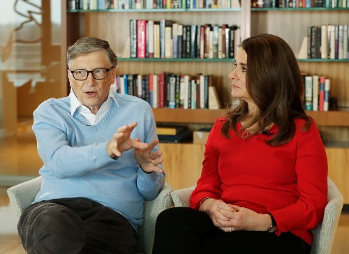 Bill and Melinda Gates have spent billions to shape education policy. Now, they say, they're 'skeptical' of 'billionaires' trying to do just that.