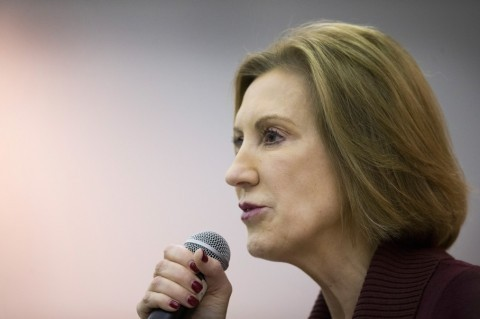 Carly Fiorina knocks Donald Trump for mocking reporter with disability