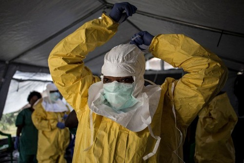 The U.S. has pulled back its Ebola response in Congo. Here's the story.